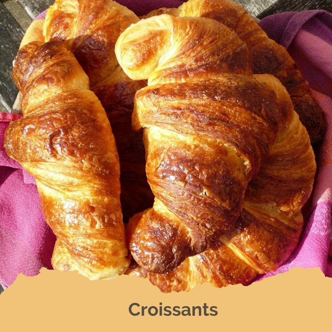 An image of croissants